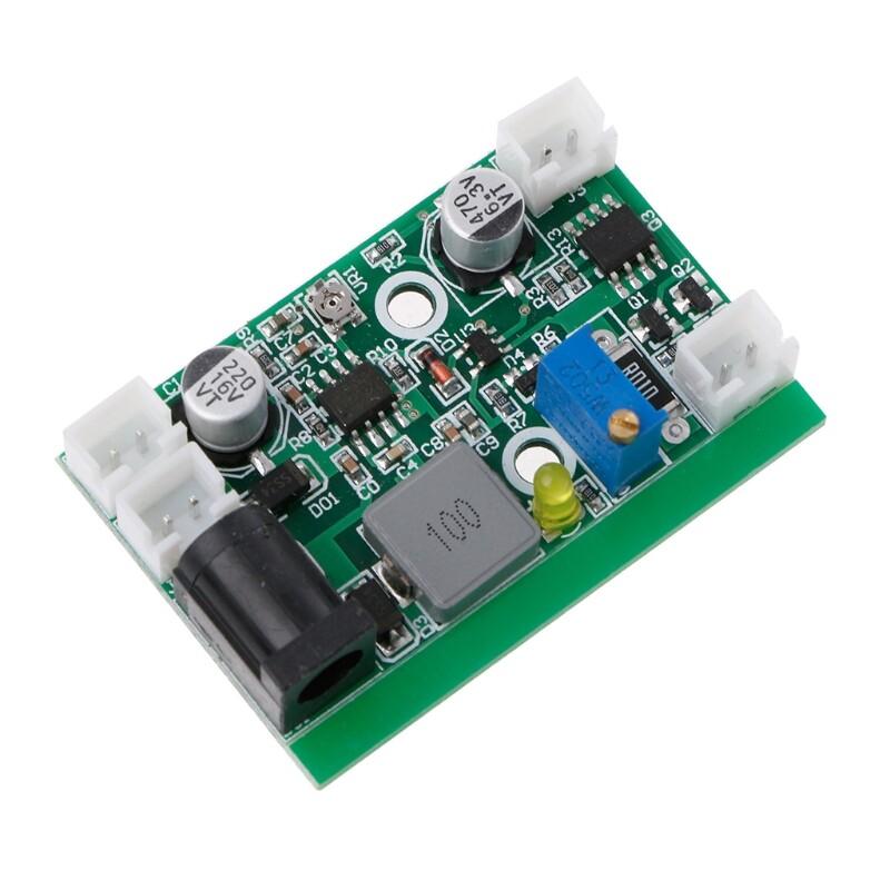 Diode Laser bước xuống 12V TTL sân khấu trình điều khiển cung cấp điện LD