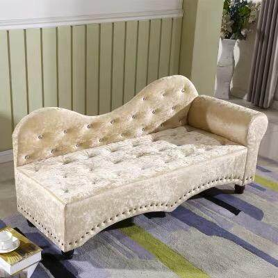 new products e7de4 c3f56 FOREVER 3-Seater Square Shape Royal Empress Sofa Bed - 140cm + Free 2  Pillow (Silver / Champagne / Green)