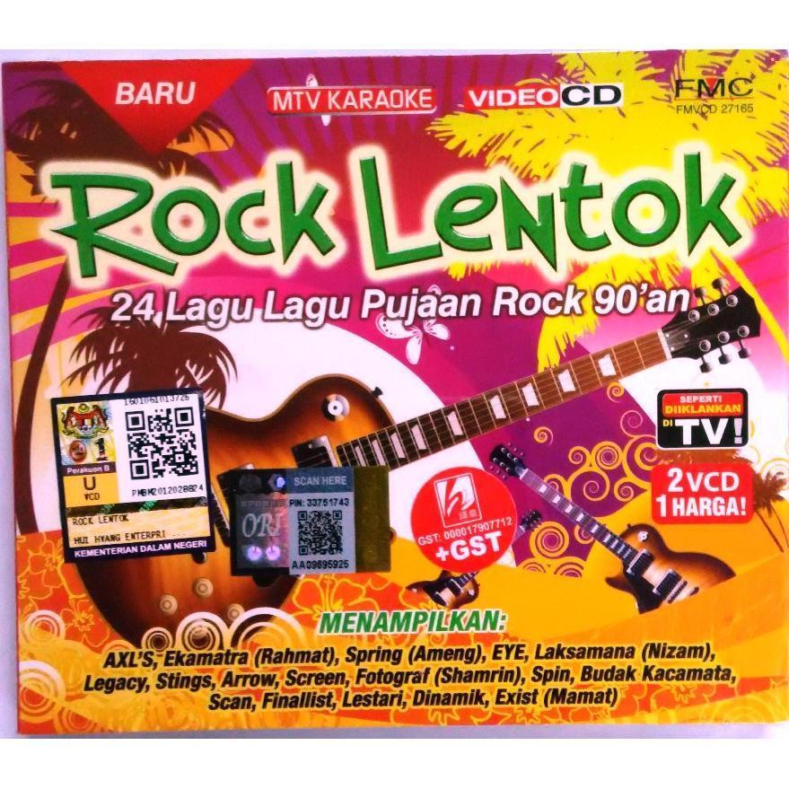 Rock Lentok Pujaan Rock 90an 2VCD MTV Karaoke EYE Finallist Spin Ekamatra  Arrow Fotograf Exists 1aa4022b02
