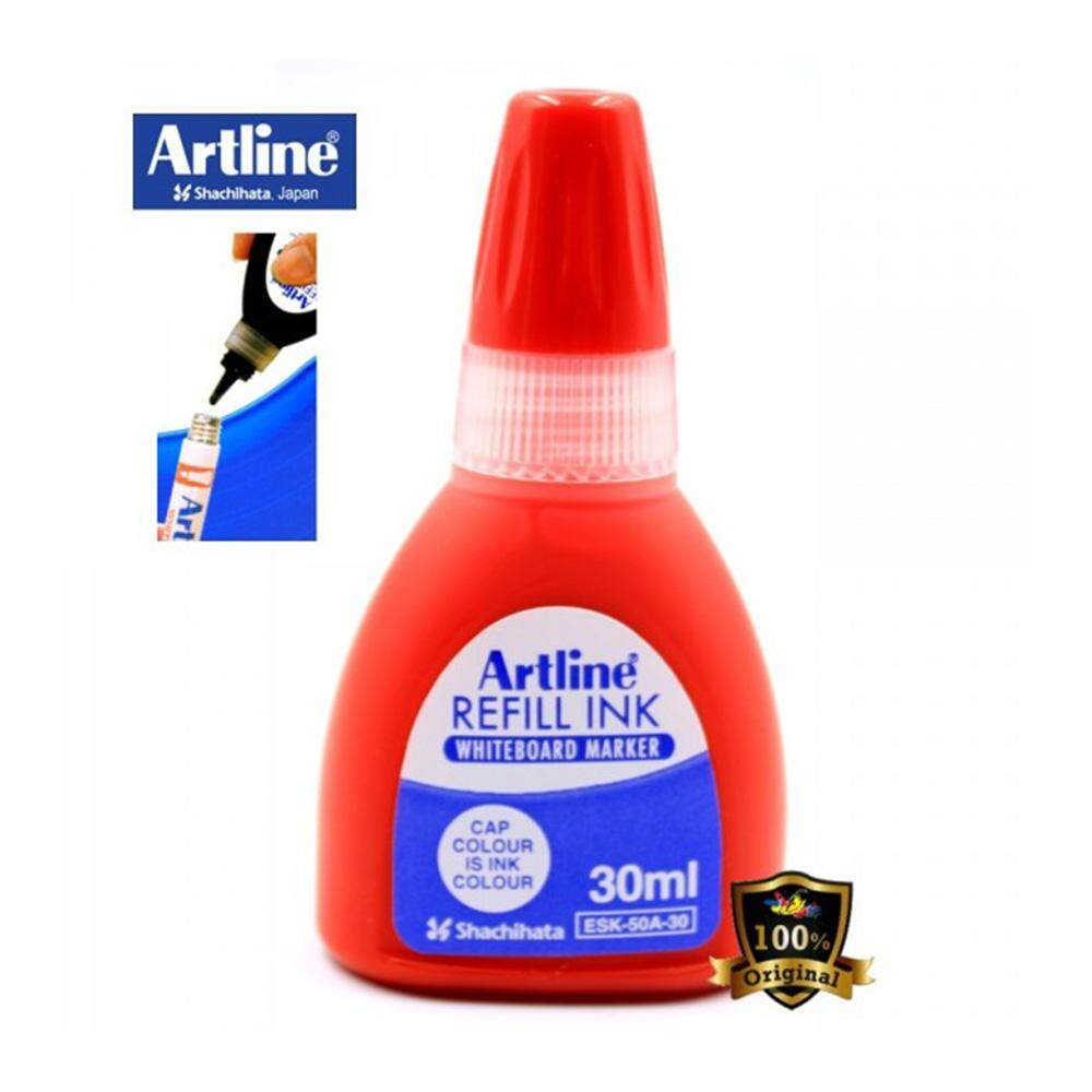 Artline Whiteboard Markers Refill Ink ESK-50A 30ml Red