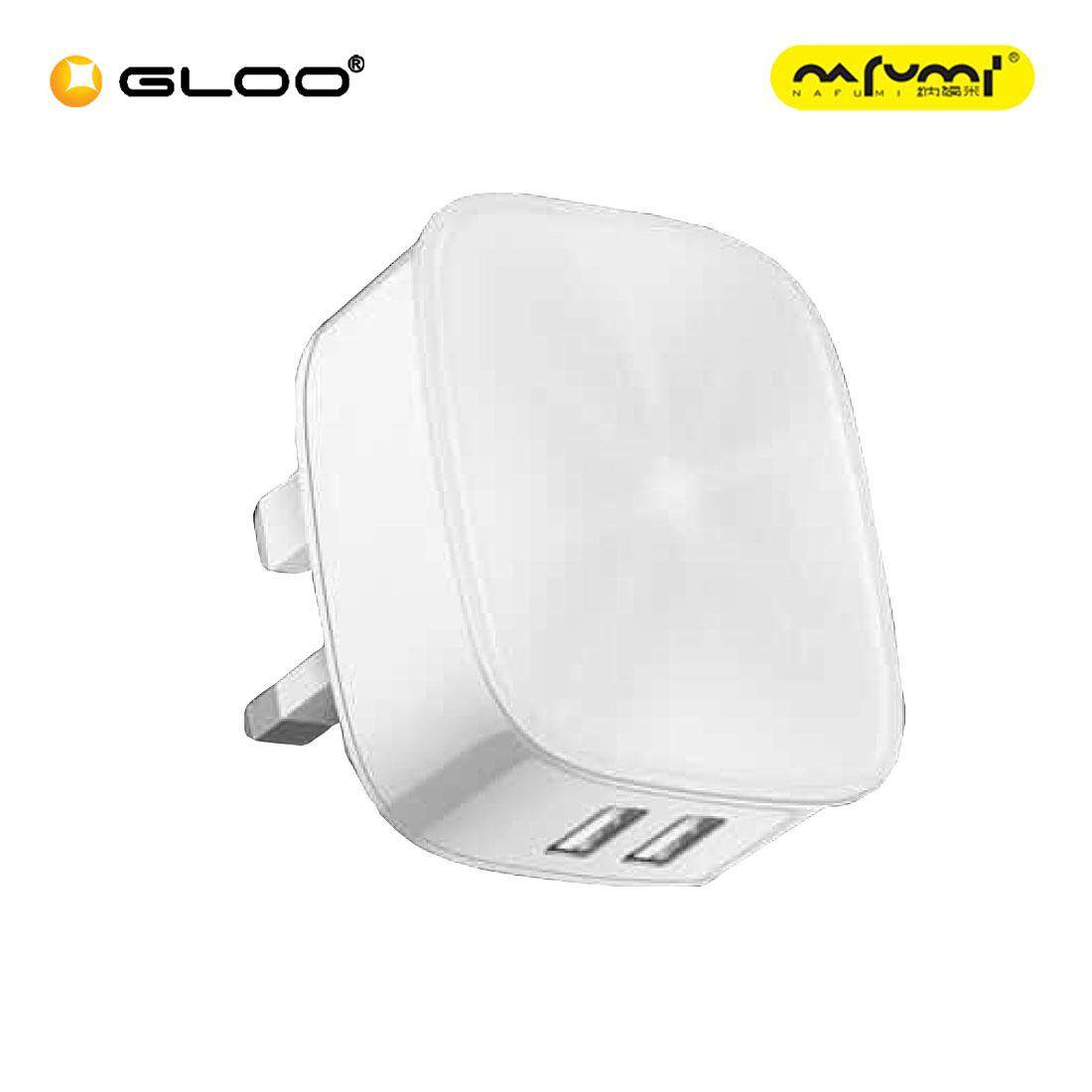 Nafumi Q20 Single USB Adapter (Black/White)