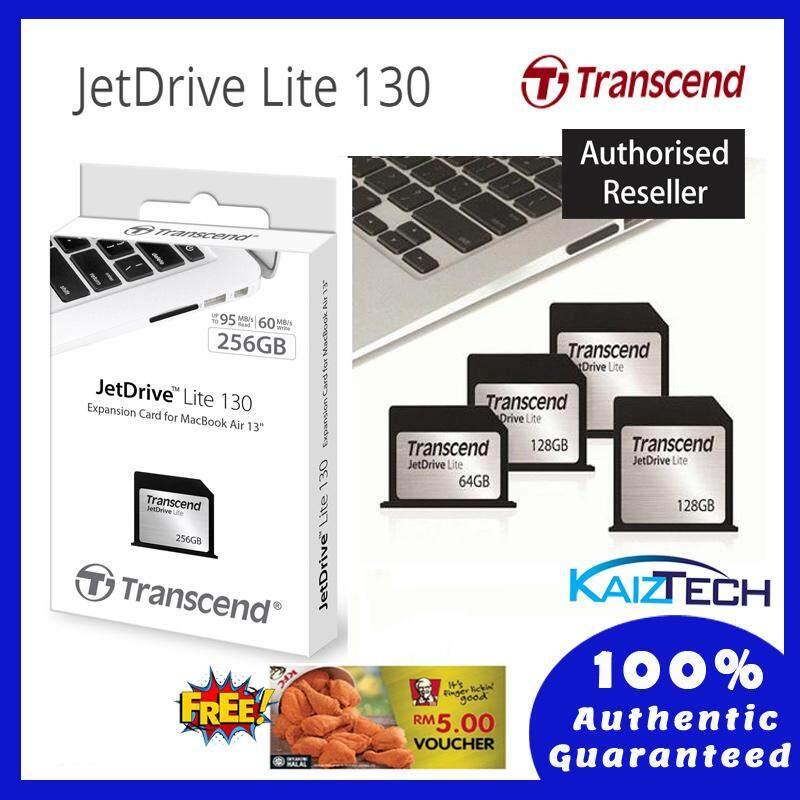 Transcend Jet Drive Lite 130 (Memory Card) for Macbook Air 13 Inch (Late 2010 - 2017) JetDrive Lite 130