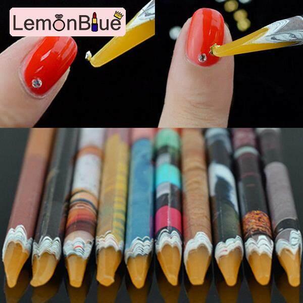 Detail Gambar Lemonblue Nail Art Pena Bor Berlian Imitasi Set Lukisan Sendiri Alat Manikur untuk Rumah Wanita Terbaru