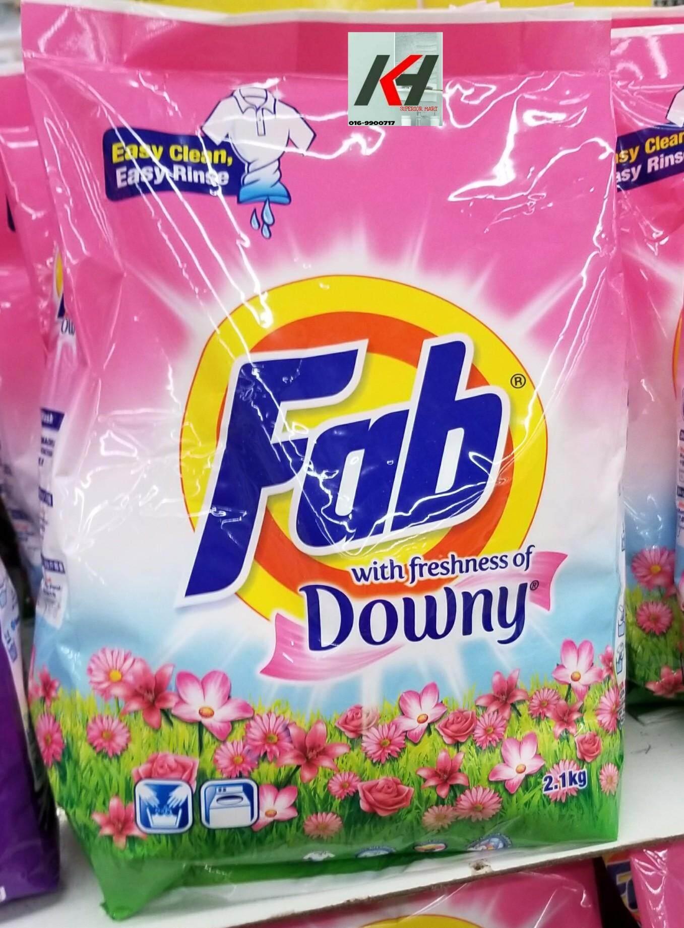 FAB DOWNY POWDER DETERGENT 2.1KG READYSTOCK
