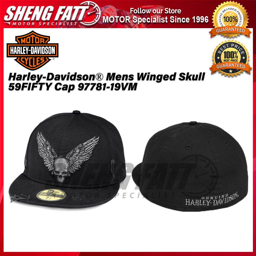 Harley-Davidson® Men's Winged Skull 59FIFTY Cap 97781-19VM - [ORIGINAL]