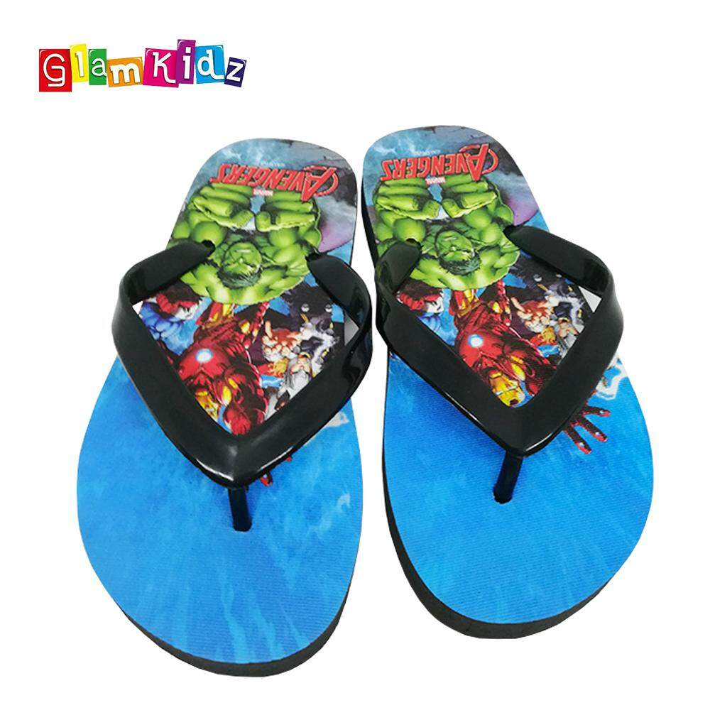 GlamKidz Marvel Avengers Slippers #2603