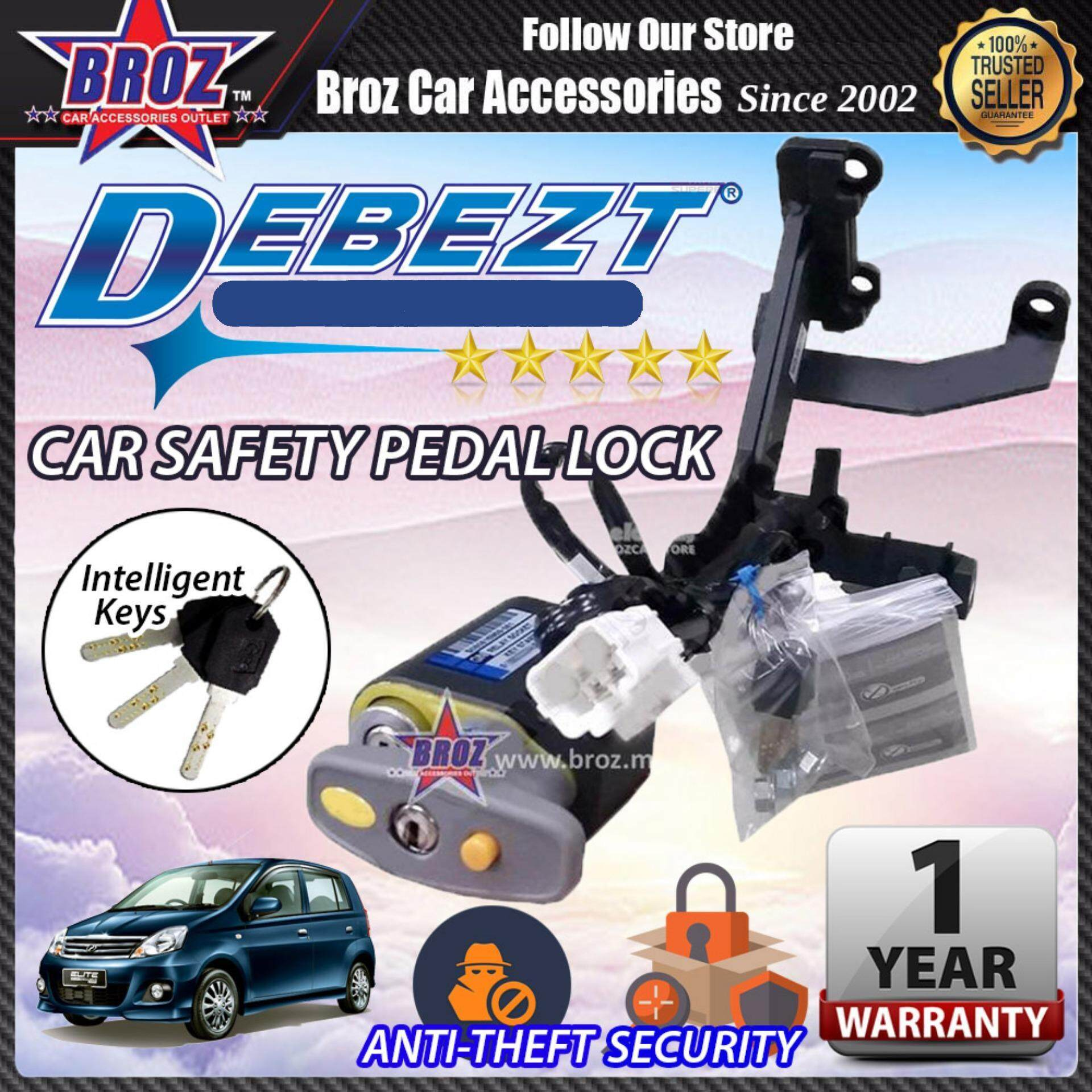 Viva 2013-2015 Debezt Auto/Manual Key Start Anti Theft Double Pedal Lock