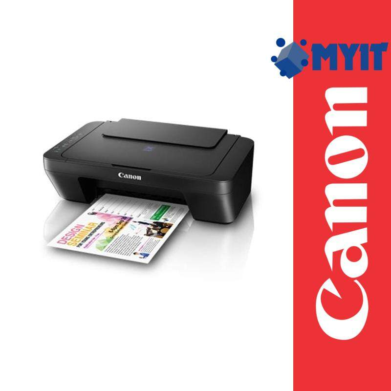 Canon Pixma E410 A4 Photo Printing Inkjet Printer AIO 3 in 1 (Print / Scan / Copy, 3 Years Warranty)