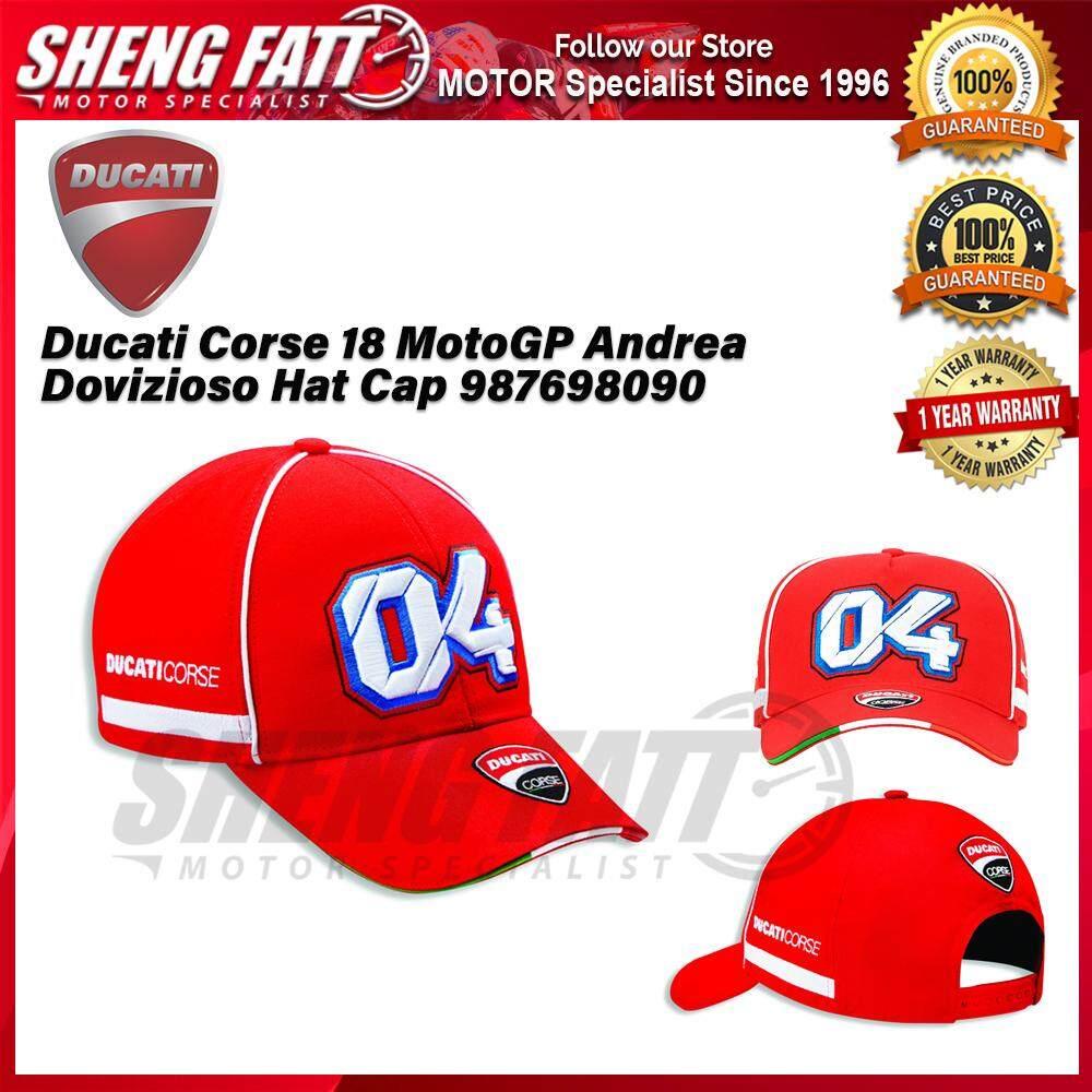 Ducati Corse 18 MotoGP Andrea Dovizioso Hat Cap 987698090 - [ORIGINAL]