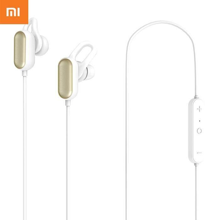 อุบลราชธานี Xiaomi YDLYEJ03LM IPX4 ชนิดใส่ในหูหูฟังสำหรับเล่นกีฬาหูฟังบลูทูธควบคุมสายไมโครโฟนรุ่นเยาวชน