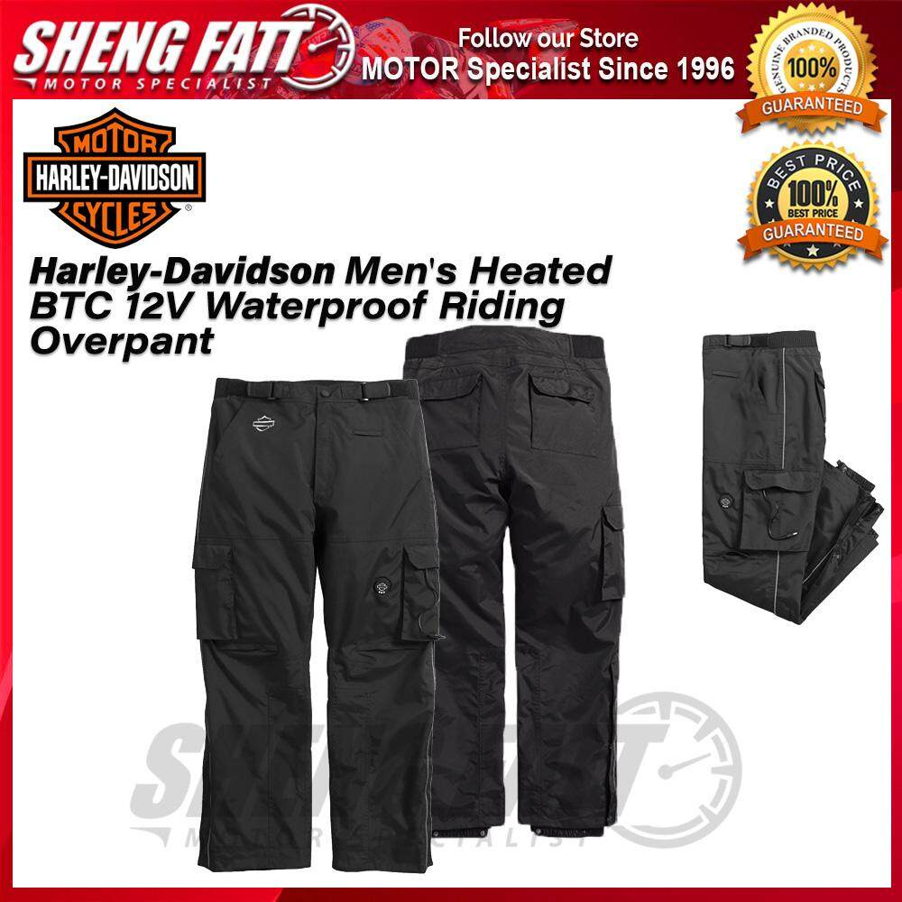 Harley-Davidson® Men's Heated BTC 12V Waterproof Riding Overpant- [ORIGINAL]