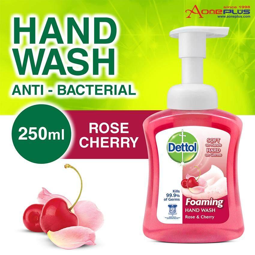 Dettol Foaming Hand Wash Rose Cherry 250ml