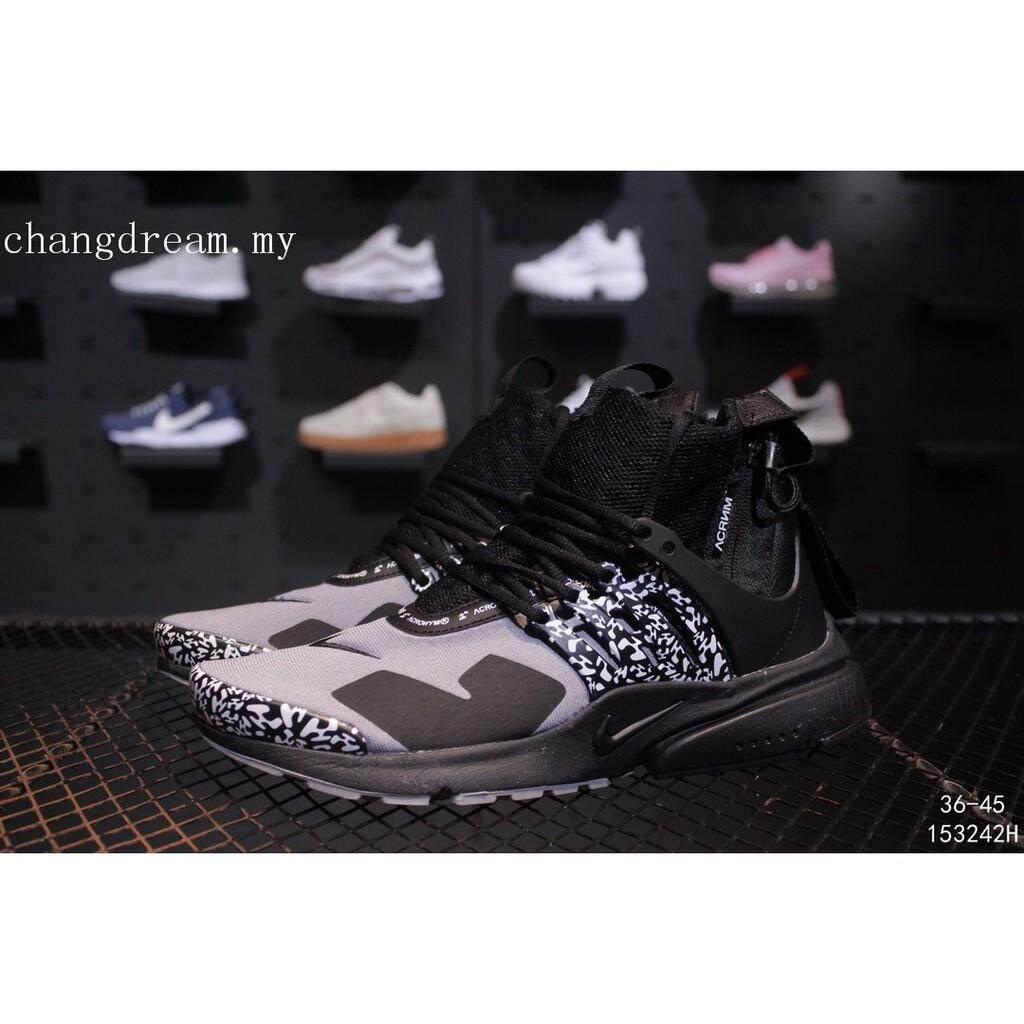 size 40 4b77a 19da4 Original Men NIKE Acronym X Nike Air Presto Sports trend jogging hiking  shoes