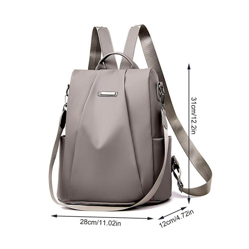 f4923531927 niceEshop Backpack For Women, Large Capacity Waterproof Nylon Anti-theft  Rucksack With ID & Mobile Phone Pockets Inside, Lightweight Travel School  ...