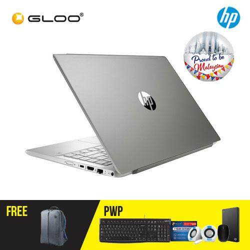 HP Pavilion 14-ce0082TX/ 14-ce0083TX Laptop (i5-8250U, 1TB+128GB, 4GB, W10) (Silver/ Gold) [FREE] HP Backpack [Redeem: 1 Yr Microsoft Office 365 Personal - 17 Aug - 30 Sept 2019*]