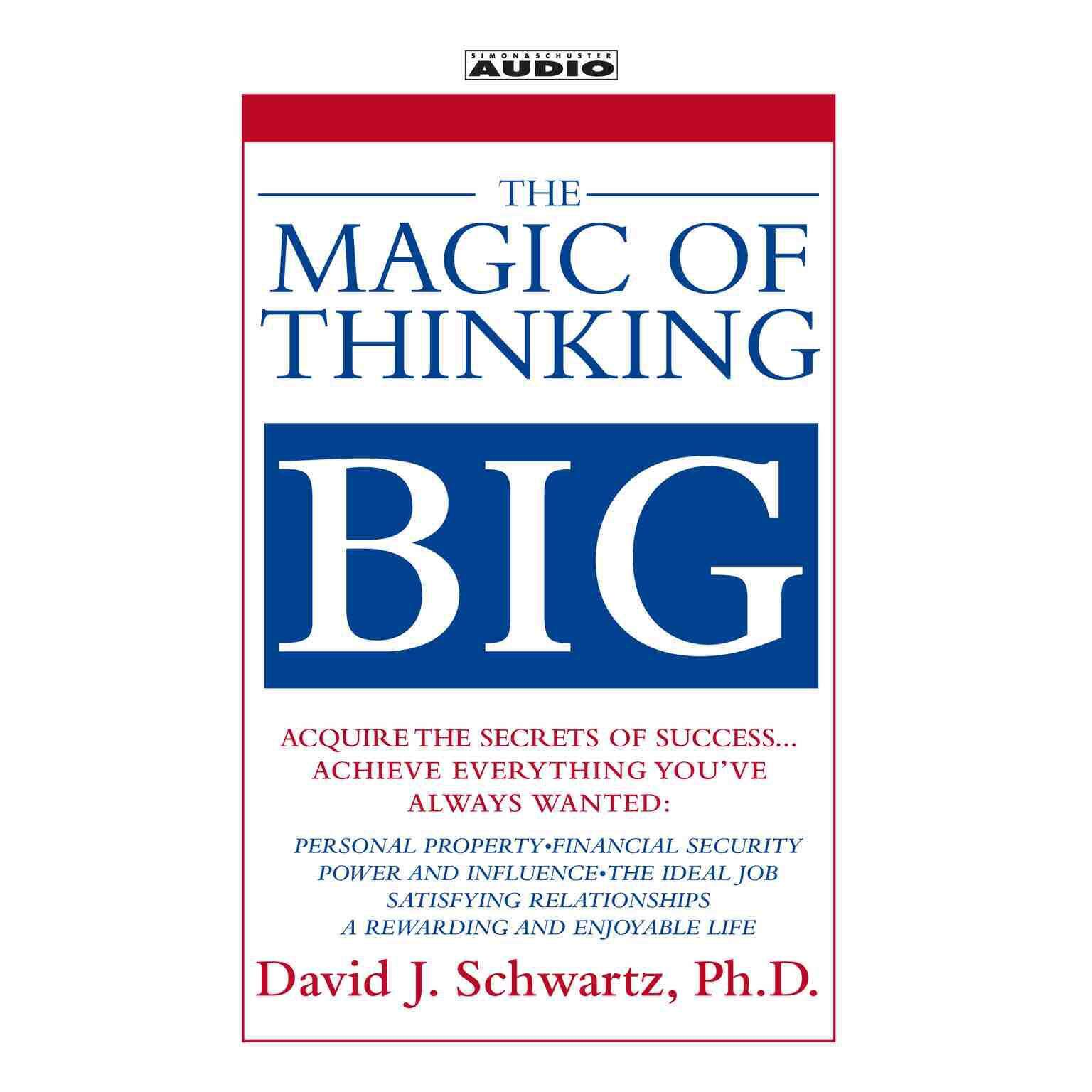The Magic Of Thinking Big Epub