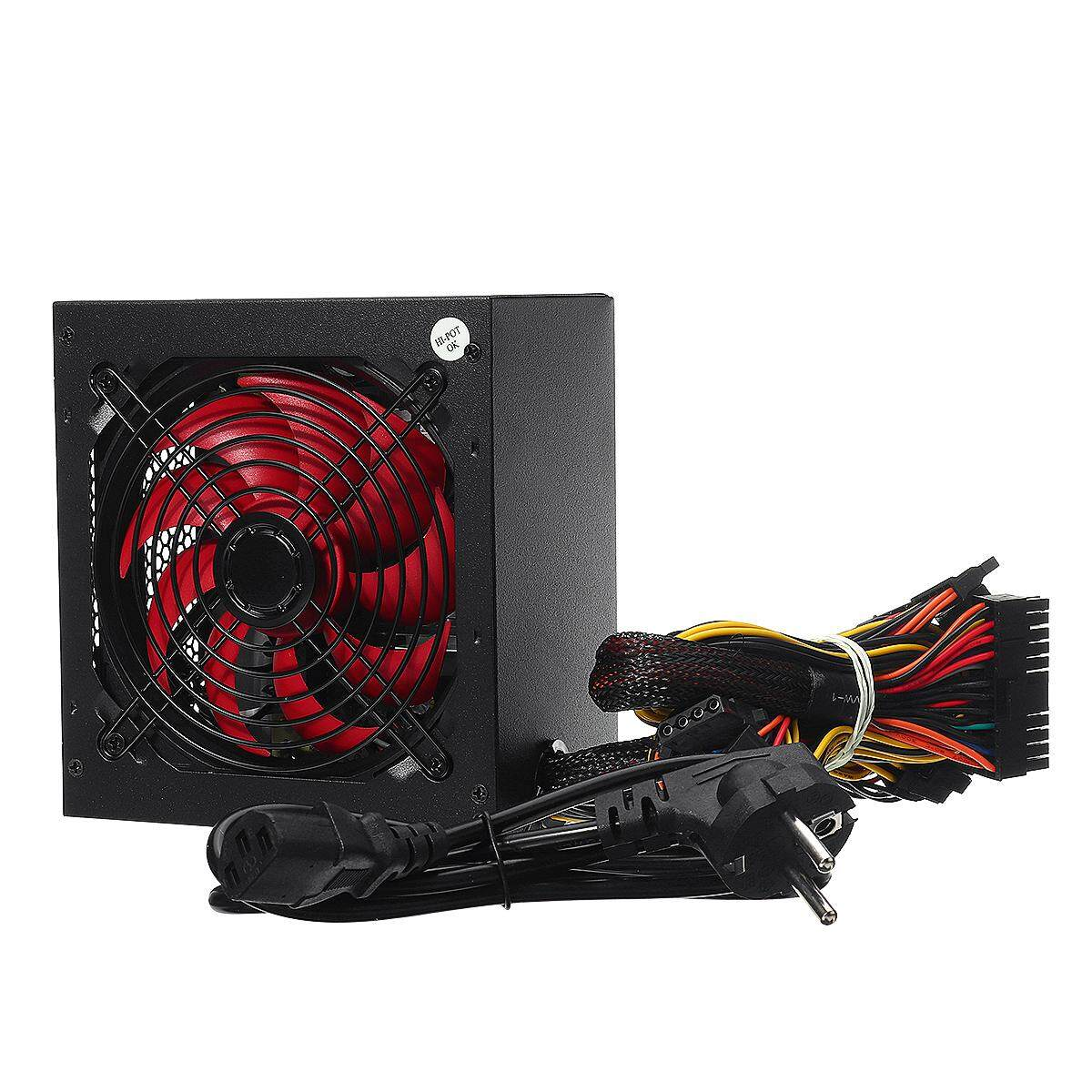 Max 650W Power Supply ATX 12V PC Computer Power Supply For Desktop Gaming Computer