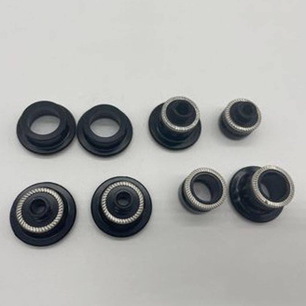 TSOMNZ Phụ Tùng Xe Đạp Nắp Đầu Moay Ơ Xe Đạp Cho Koozer XM490 Nắp Chụp Moay Ơ Trước/Sau Nắp Chụp Chuyển Đổi Moay Ơ Xe Đạp Nắp Moay Ơ Xe Đạp Bộ Chuyển Đổi Moay Ơ QR THRU Moay Ơ