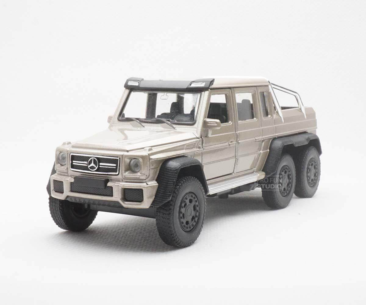 Welly Mercedes Benz G63 AMG 6X6 Luxury SUV 1/36 1/32 1/34 Diescat Car model Gold
