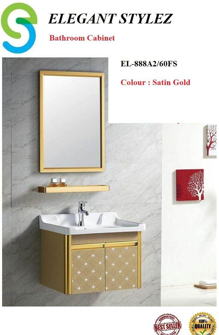 ELEGANT STYLEZ BATHROOM BASIN CABINET COMPLETE SET PACKAGE EL-888A2/60FS
