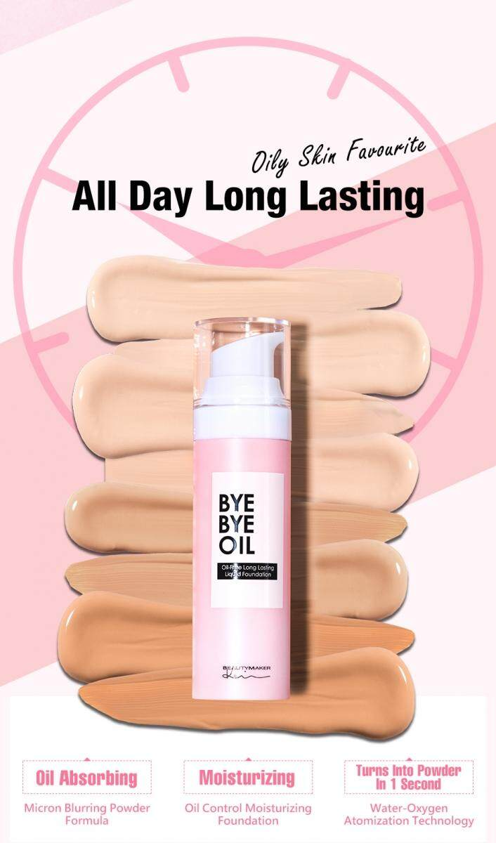 BeautyMaker Oil-Free Long Lasting Liquid Foundation