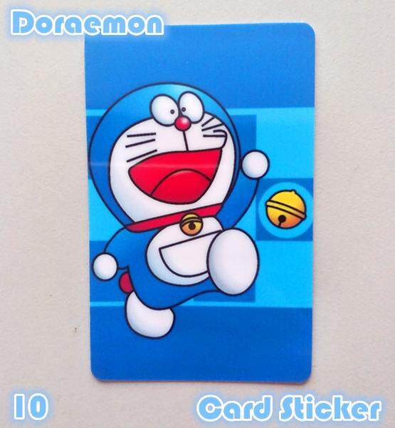 Doraemon Cute Card Sticker Touch N go Sticker
