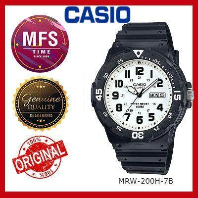 (2 YEARS WARRANTY) CASIO ORIGINAL MRW-200H SERIES ANALOG MEN'S WATCH