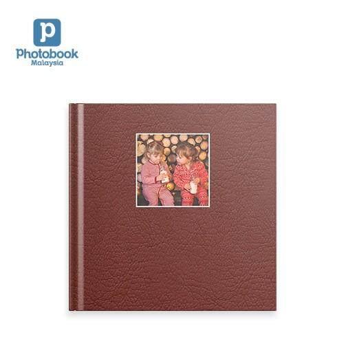 "Photobook Malaysia - 8"" x 8"" Small Square Debossed Hardcover Photobook"