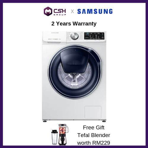 Samsung  Front Load Washer with QuickDrive 9 kg wash WW90M64FOPW/FQ