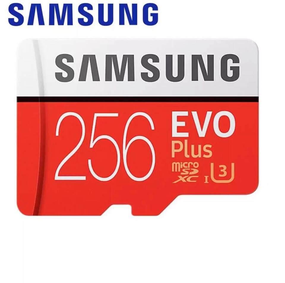 Samsung EVO Plus 256GB 100MB/s MicroSD Class 10 MicroSDXC UHS-I U3 4K with FREE Adapter