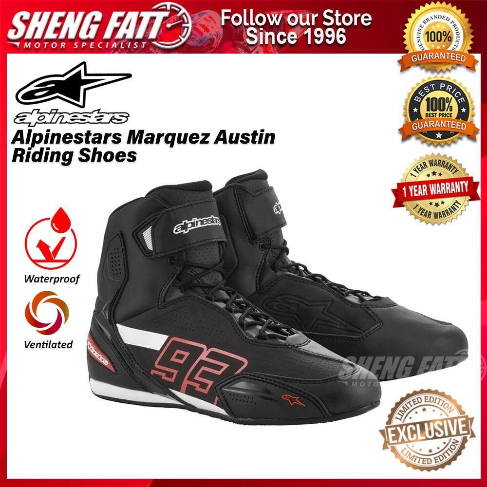 Alpinestars Marc Marquez 93 Austin Riding Shoes Black LIMITED EDITION
