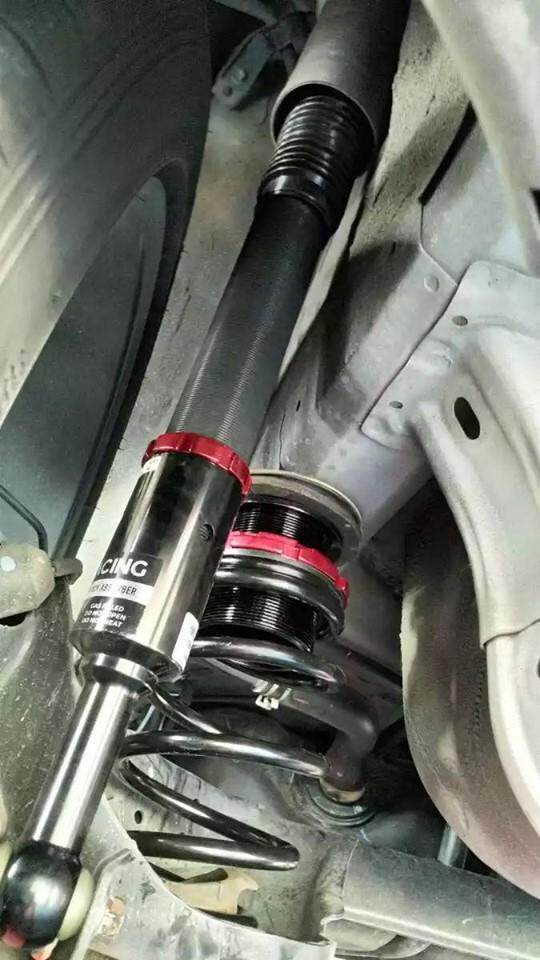 BC RACING V1 SERIES ADJUSTABLE SUSPENSION HONDA CITY GM6 / JAZZ GK3 / GK5
