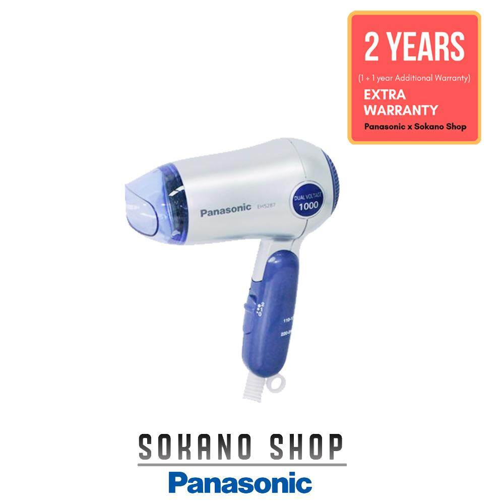 Panasonic EH5287 Hair Dryer For Travel Compact Dual Voltage