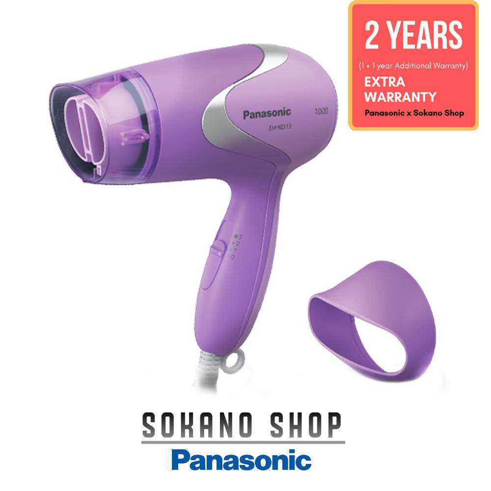 (RAYA 2019) Panasonic EH-ND13-V 1000W Quick Gentle Drying Hair Dryer