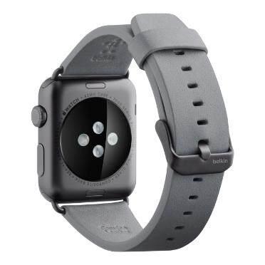Original Belkin Classic Leather Band for Apple Watch Wristband 42mm/44mm F8W732btC00, F8W732btC01, F8W732b2C02