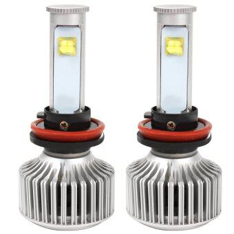 Harga 1 Set 40W 3600LM H11 All-in-one Car Led Headlight Headlamp Versionof X7 LED Head Lamp Bulb