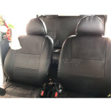 Broz 1 SET Semi Leather Car Seat Cover Auto Interior Accessories Universal Styling Car Cover - Black