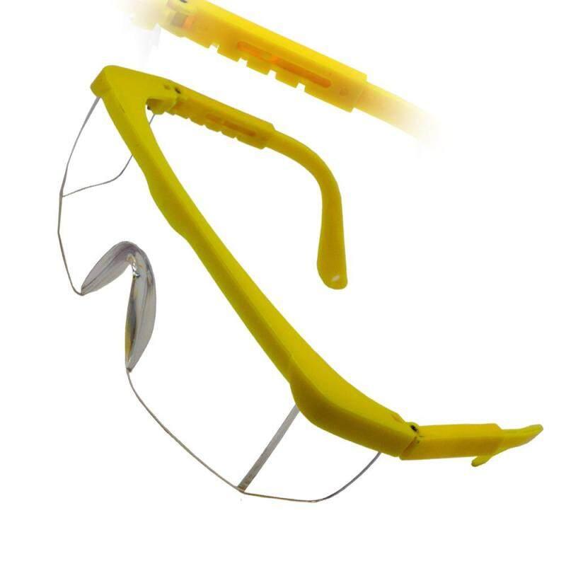 10 Pair 380C Safety Eyewear Cear Yellow Frame Malaysia