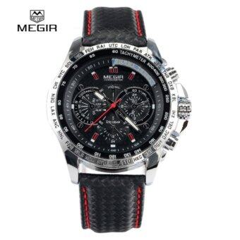 100 Authentic Megir M1010 Male Quartz Watch Multi