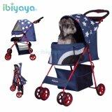 (RAYA 2019) (100% AUTHETNTIC PET STROLLER) IBIYAYA PREMIUM Pop Art Pet DA-2740 Stroller – Starlit Captain