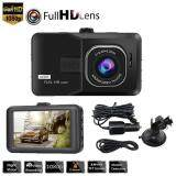 Broz 1080P Full HD Dash Cam Car DVR With 4.0'' LCD Screen TF card memory 170?Ultra Wide Angle Lens (Suitable For Grab Car & Uber)e