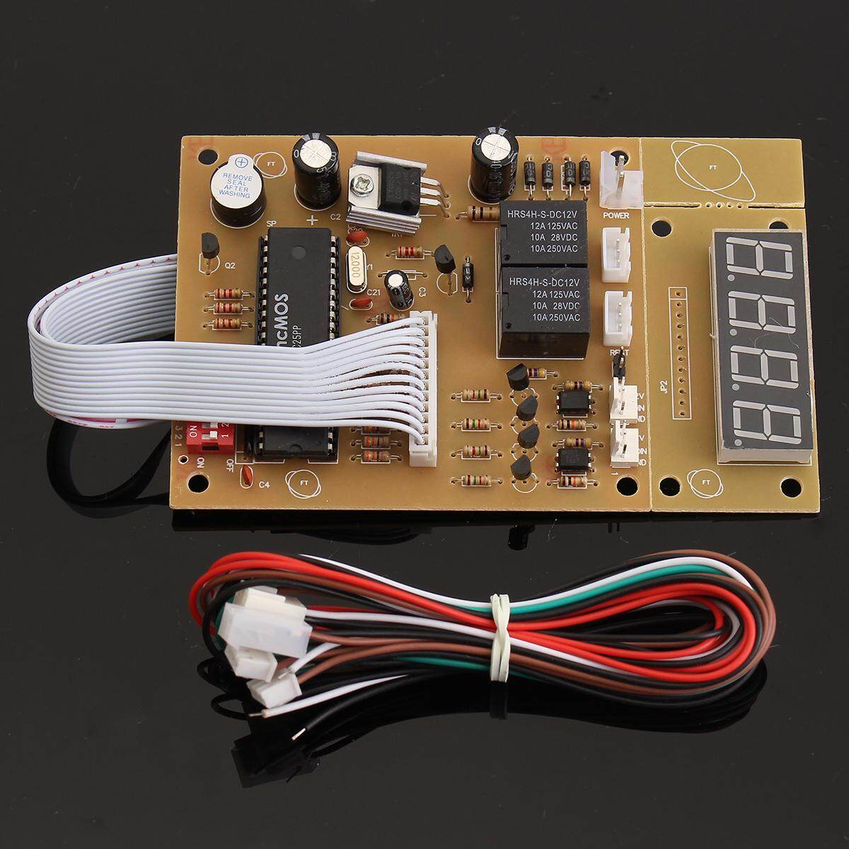 Cek Harga Baru 12v Lcd Display Time Control Timer Board Power Supply Multi Wiring For Coin Acceptor Intl