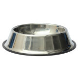 (LZ) 15 CM Stainless Steel Pet Dogs Cats Feeding Feeder Food Water Bowl Dish