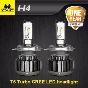 Harga 1SEToriginal owlview Cree Chip H4 H11 H7 H1 H13 H3 9005 9006 9007COB LED Car Headlight Bulb Hi-Lo Beam 72W 8000LM 6000K AutoHeadlamp 12v 24v