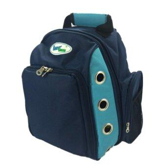 1STOP Premium Expendable Backpack Pet Carrier (Blue)