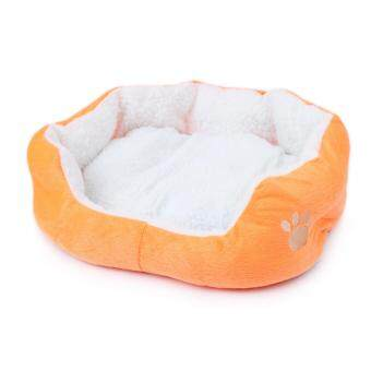 1STOP Premium Pet Bed 60cm x 50cm - Orange