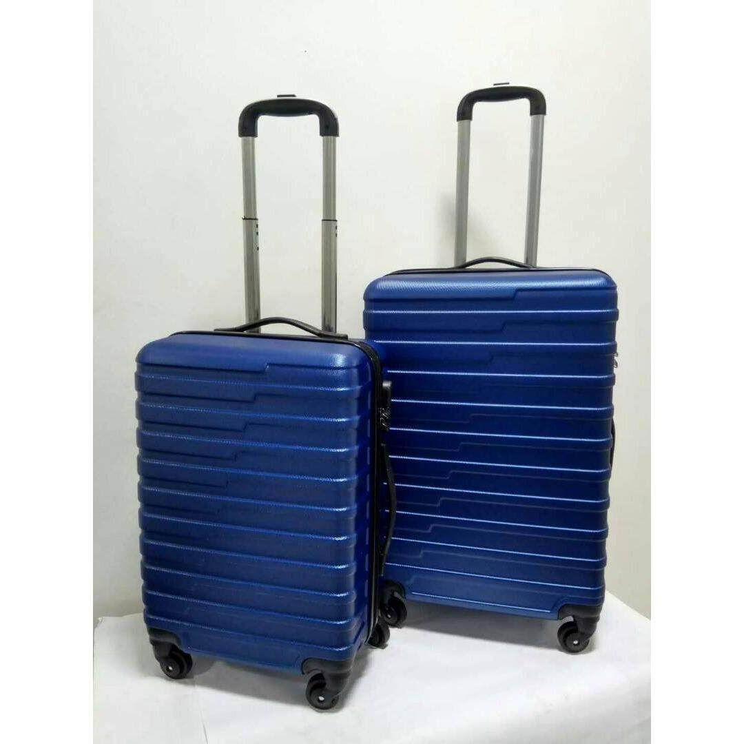 2 in 1 Luggage Bag Set Travel Bag with Wheel(blue)