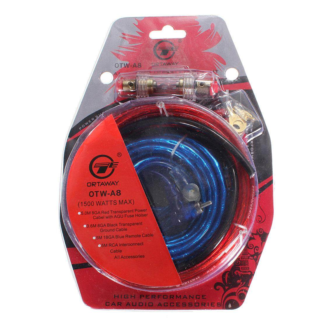 Gauge 4 Amplifier Wiring Kit For Car Audio Philippines Price Specs 2 Pcs 1500w Complete 10 Amp Cable Speaker Sub Subwoofer