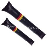2 x Germany Flat Universal Car Vehicle Seat Pad Hand Brake Spacer Filler Leakproof Padding Carbon Leather Holster Coverage Fillers