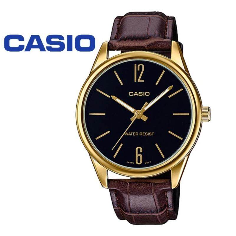 (2 YEARS WARRANTY) CASIO ORIGINAL MTP-V005GL-1B DRESS ANALOG-GENTS WATCH Malaysia